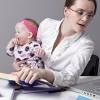 Και εργαζόμενη και μητέρα;
