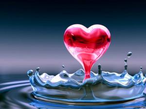 heart-love-in-water